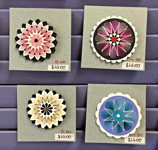 Flower Pins C